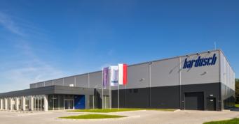 pralnia przemysłowa - inwestycja dla Bardusch Polska, generalny wykonawca CoBouw Polska