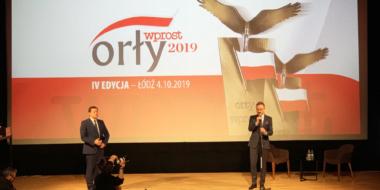 gala Orłów Wprost województwa łódzkiego, wiceprezydent Krzysztof Piatkowski, przemówienie inauguracyjne