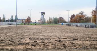 przygotowanie terenu pod budowę hali stalowej-obiekt handlowy, dla Boboland, w Szczecinie, woj. zachodniopomorskie