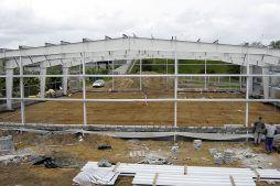konstrukcja stalowa hali - hala magazynowa z częścią biurową, dla P.P.H.U. Rak, Września, woj. wielkopolskie