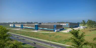 rozbudowa centrum logistycznego - hala magazynowa, Indeka Logistic City, Płaszewko, Słupska SSE, woj.pomorskie