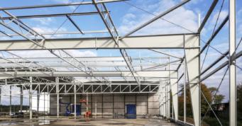 rozbudowa hali - obiekt produkcyjno-magazynowy, dla Fagum-Stomil, druga inwestycji, w Łukowie, w woj. lubelskim