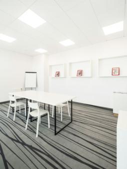 sala zebrań - hala produkcyjno-magazynowa z budynkiem socjalno-biurowym, dla Vito Polska, Międzyrezc Podlaski