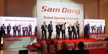 Ceremonia otwarcia fabryki Sam Dong Europe
