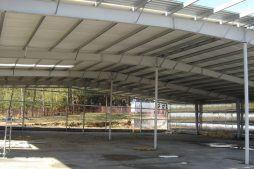 konstrukcja stalowa - hala produkcyjna, dla Schell Industries, Rzepin, woj. lubuskie