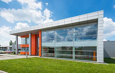 Przykład hali stalowej zbudowanej przez CoBouw