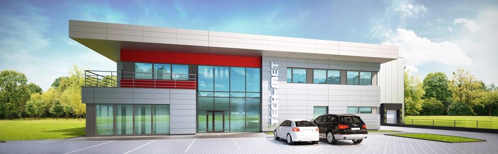 Budowa hali dla firmy Tech-Met Alicja Lis