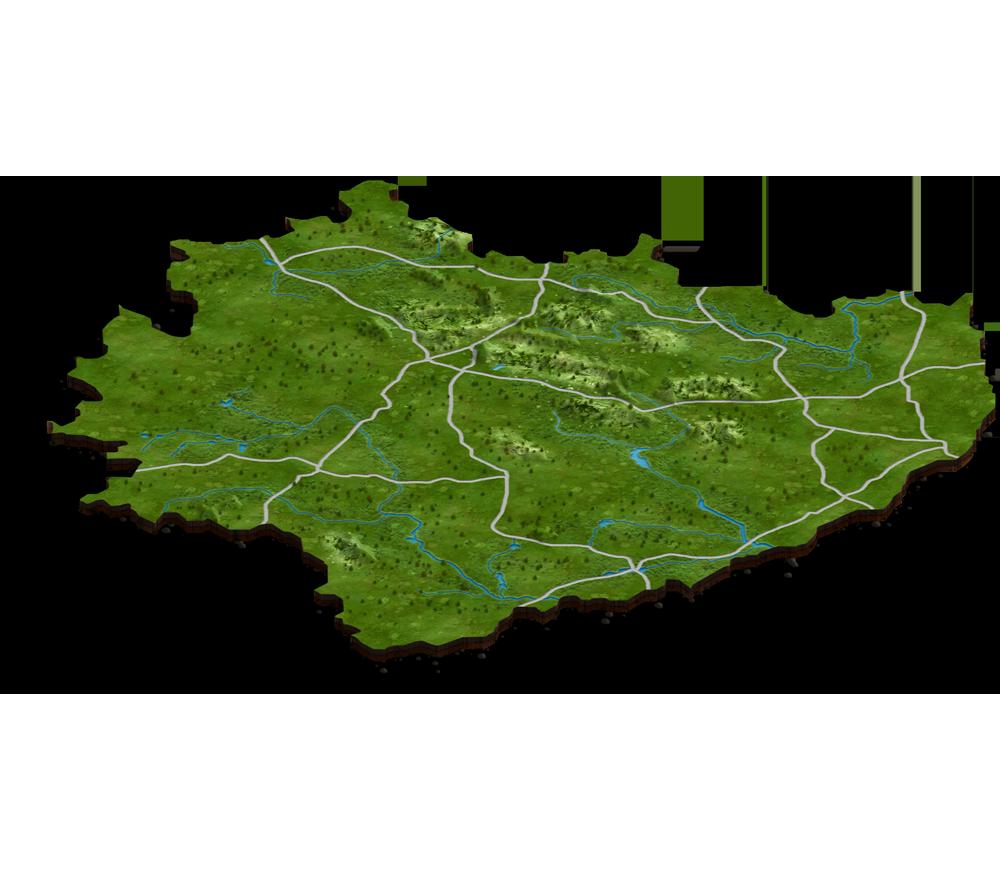 Mapa naszych obiektów