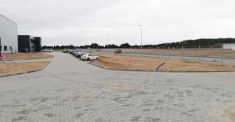 układ drogowy wokół obiektu - budowa pod klucz, na terenie Kostrzyńsko-Słubickiej SSE, dla Kentaur Production, woj. zachodniopomorskie
