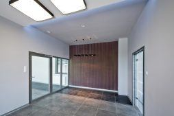 wnętrze - hala produkcyjna z budynkiem biurowym, dla Vertex, Konst. Łódzki, woj. łódzkie