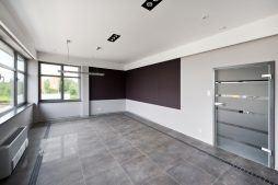 wnętrze obiektu - hala produkcyjna z budynkiem biurowym, dla Vertex, Konst. Łódzki, woj. łódzkie