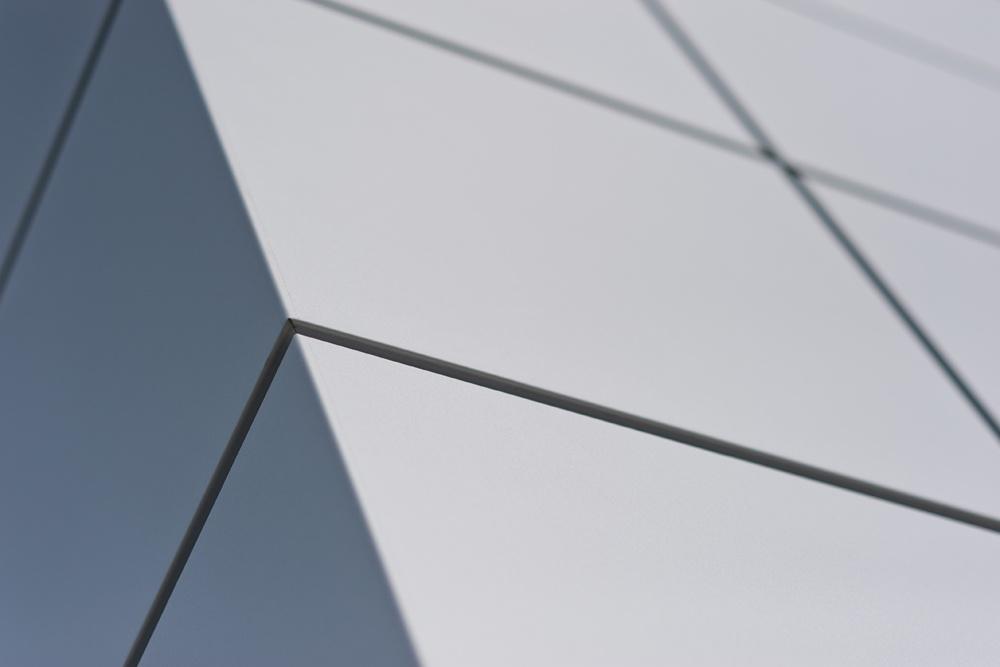 panele elewacyjne - hala produkcyjna z budynkiem biurowym, dla Vertex, Konst. Łódzki, woj. łódzkie
