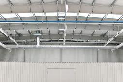 wnętrze hali 3 - hala produkcyjna z budynkiem biurowym, dla Vertex, Konst. Łódzki, woj. łódzkie