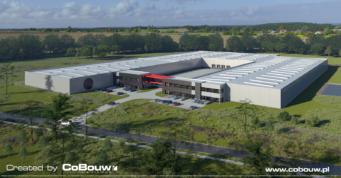 wizualizacja-Turenwerke-2 etap inwestycji - hala dla producenta drzwi, Stanowice, woj. śląskie