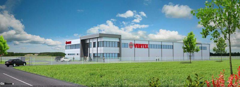 Budowa zakładu produkcyjnego dla firmy Vertex Sp.zo.o.