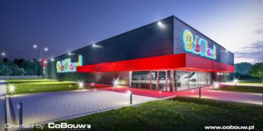 Generalne wykonawstwo hali handlowej dla firmy Boboland