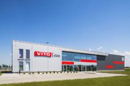 zakład produkcyjny Vito - hala stalowa, Vito Polska, Międzyrzec Podlaski, branża okienna