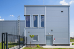 wejście boczne - hala produkcyjno-magazynowa z budynkiem socjalno-biurowym, dla Vito Polska z Międzyrzeca Podlaskiego