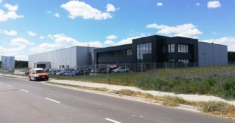 zrealizowana inwestycja Kentaur - obiekt w konstrukcji stalowej, powierzchnia około 7.000 m2, w Łobzie, w woj. zachodniopomorskim